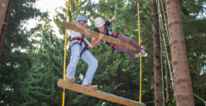 Teamevent Kletterwald St. Englmar
